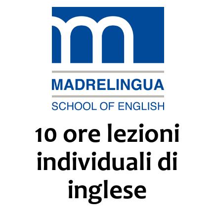 10 ore lezioni individuali di inglese