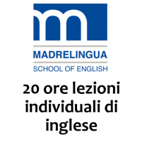 20 ore lezioni individuali di inglese