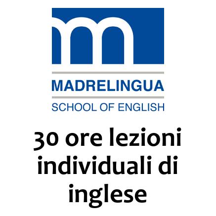 30 ore lezioni individuali di inglese