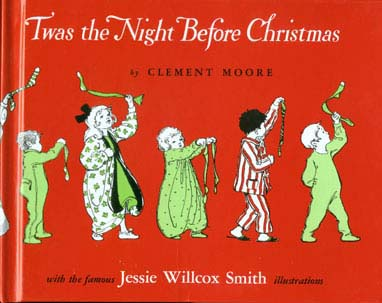 Cover of 'Twas the Night Before Christmas' by Clement Moore, source: http://www.gutenberg.org/etext/17135